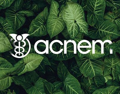 acnem / Identity / Re-brand
