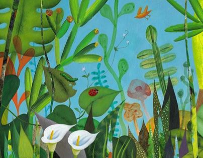 Animation / Digital Garden-Four Seasons