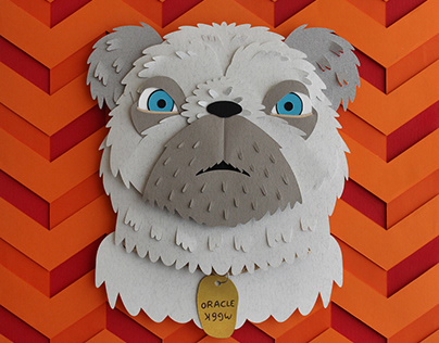 Isle of Dogs Paper Portraits