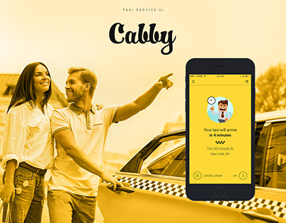 Cabby - Taxi Service UI