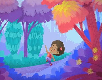 Tamara y Los colores del bosque