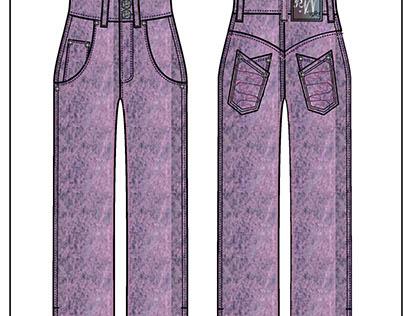 RNN Acid Washed Jeans