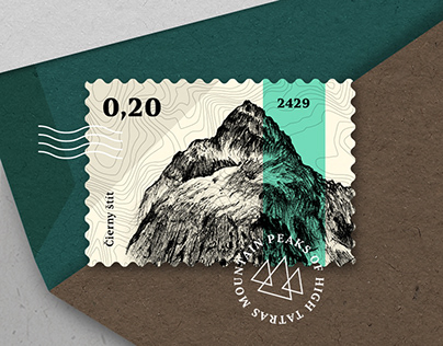 Mountain Peaks of High Tatras_Stamp Collection