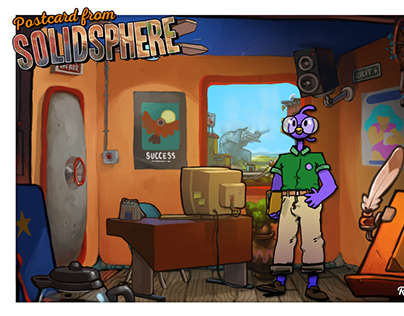 Postcard from Solidsphere
