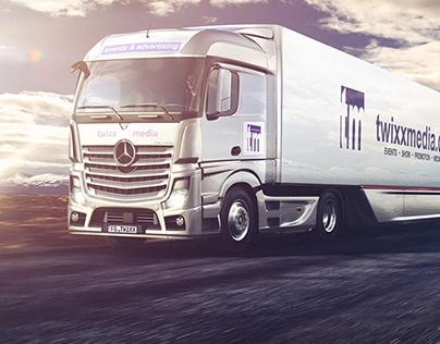 Mercedes Actros (CGI)