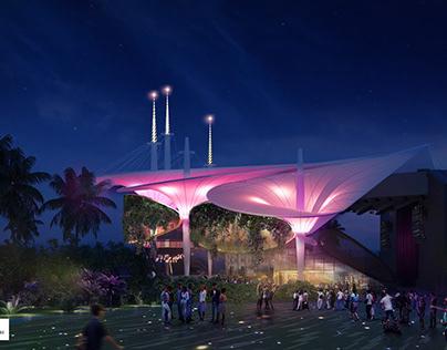 Tropical Amphitheater
