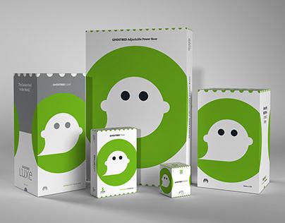 GhostBed Branding 2018