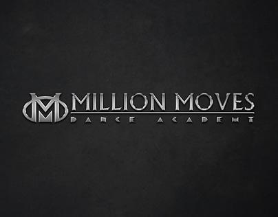 Million Moves Dance Academy (Logo Design)