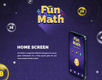 FUN MATH - Game mobile no.1