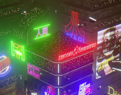 Neon City - Cyberpunk tribute