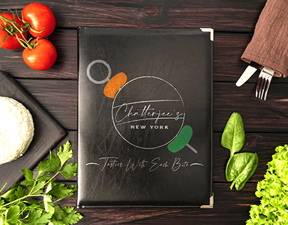 Logo for an Indian Restaurant based in NY.