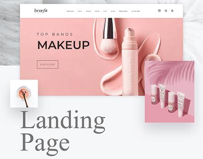 Make-Up Ecommerce Website Design