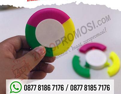 Souvenir Stabilo Bulat Cetak Logo Termurah