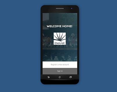 Emaar Mobile Application Animation