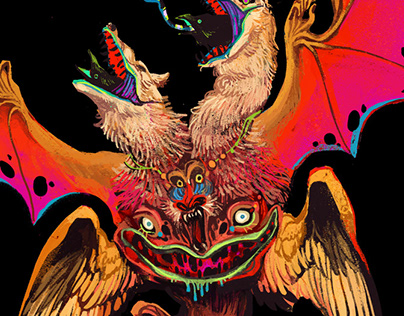 Chroma-Monsters in Vivid Color