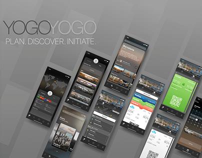 YogoYogo Travel App   UI/UX   Dark Mode