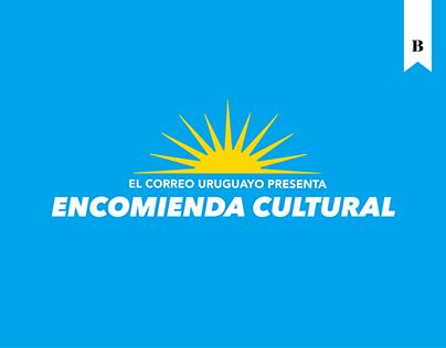 Encomienda cultural - Correo uruguayo
