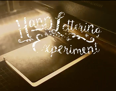 Hand Lettering Experiment