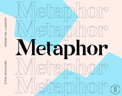 METAPHOR - FREE DISPLAY FONT