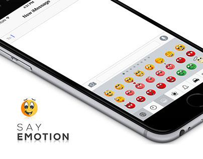 Say Emotion