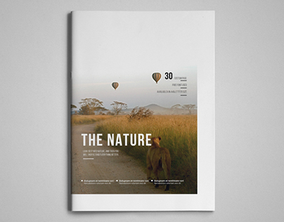 Simple & Clean Magazine Template II