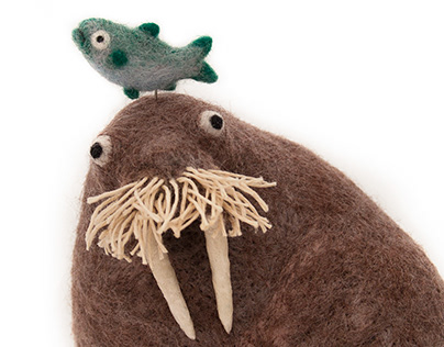 Walrus & Friend