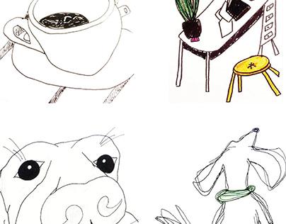 Illustration&Watercolours