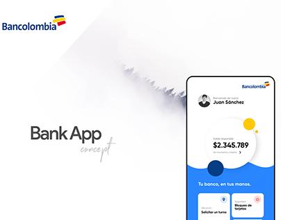 Bancolombia App Concept