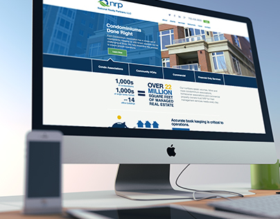NRP Website and Logo