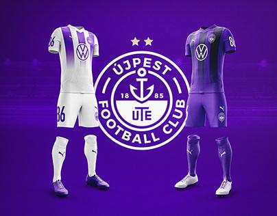 ÚJPEST FC - Rebranding