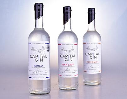 The Capital Gin - Label Design Update