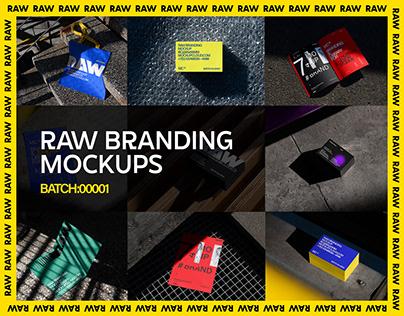 Raw Branding Mockups / Batch 00001