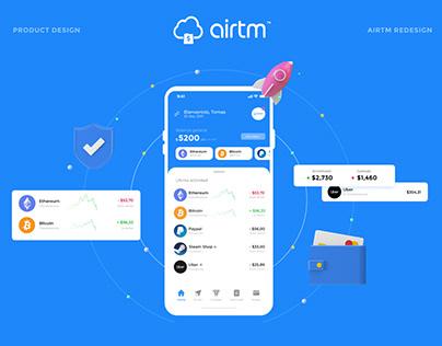 Airtm App Redesign | UX/UI