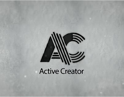 Active Creator logo Animation