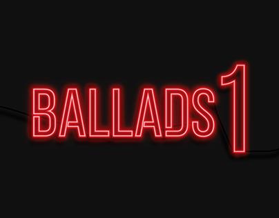 Ballads 1 - Vinyl Re-Design
