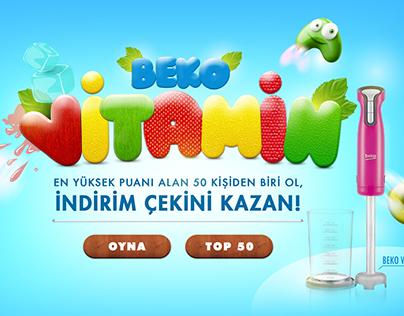 Beko- Vitamin Oyunu