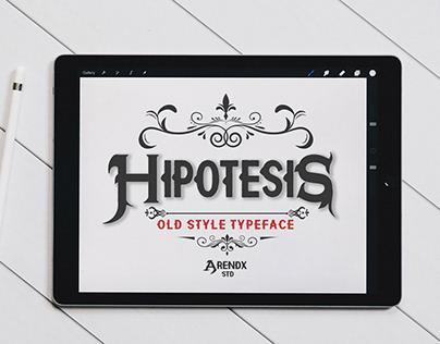 Free Hipotesis Western Display Font