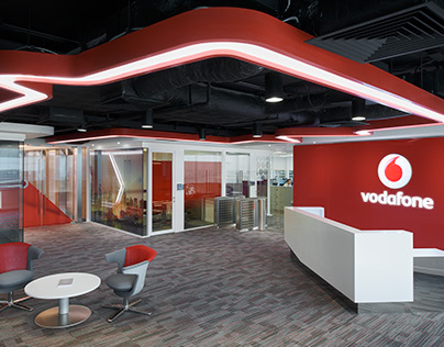 Interior photography - Vodafone office by Space Matrix