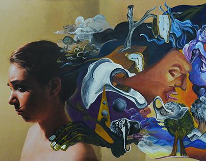 Self Portrait inspired by Dali