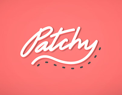 """Logotype for Brand """"Patchy"""""""
