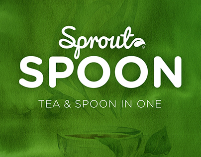 Sprout Spoon. Corporate ID.