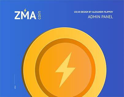 ZMA Coin (Admin Panel)