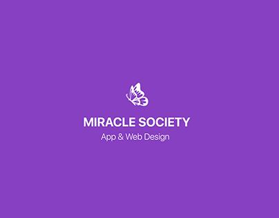 Miracle Society App & Admin Website