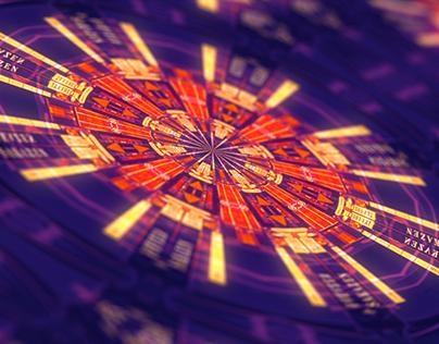 Kaleidoscope Journey: Motion Graphics Art