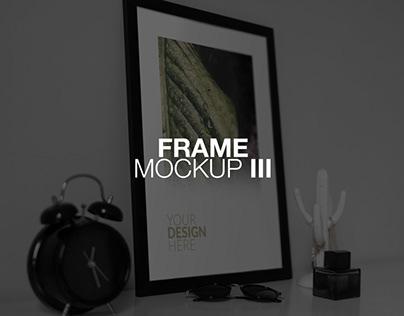Frame PSD Mockup III