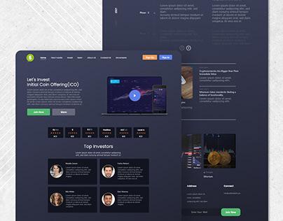 Latest Cryptocurrency UI Design