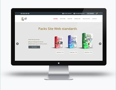 Création site web : webtijara.com