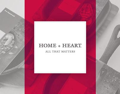 HOME + HEART
