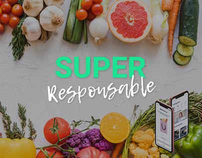 Super Responsable - Design d'application mobile