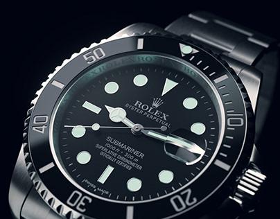 Rolex Submariner   CGI